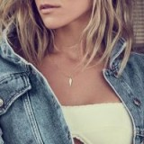 Uncommon James Straight to the Point (Rose Gold) Pendant Necklace | Kristin Cavallari jewellery