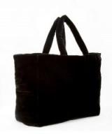 THE VAMPIRE'S WIFE The Visiting Bag Black Velvet Hobo | luxe shopper