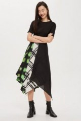 Boutique Tie Dye Scarf Skirt | handkerchief hem