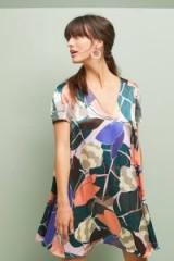 Corey Lynn Calter Geometric Tunic Dress   retro prints