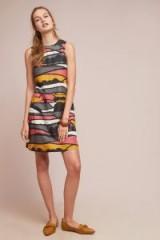 Corey Lynn Calter Velley Printed Shift Dress   sleeveless vintage style frock