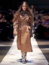 ACNE STUDIOS Beige Cotton-gabardine trench coat