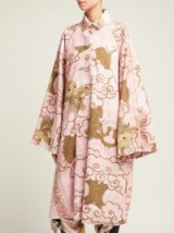 BY WALID Dorothee pink antique-cotton coat | oriental inspiration