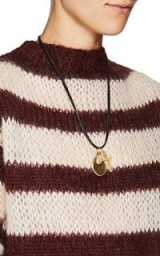 ELI HALILI Mixed-Pendant Necklace ~ gold statement pendants