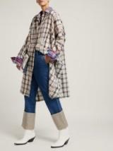LOEWE Fisherman striped turn-up denim jeans ~ deep cuffs