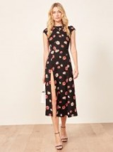 REFORMATION Gavin Dress – Jennifer Floral print / cut out back