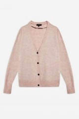 Selected Femme 'Helka' Knit Cardigan in Rose ~ pink cardi