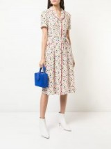 HVN Maria button-down pyjama dress in FRUIT SALAD   vintage inspired   retro fashion