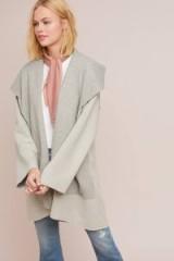 Moth Ingrid Sweater Coat ~ chic open front cardigan