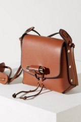 Liebeskind Boxy Crossbody in Brown Leather