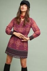 Maeve Meredith Printed Dress   retro fashion