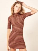 Reformation Mod Dress in Gabriel Stripe   retro fashion
