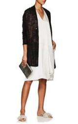 PAS DE CALAIS Tie-Dyed Wool Long Cardigan ~ sheer lightweight cardi