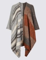 M&S COLLECTION Patchwork Wrap in Natural Mix / boho style wraps