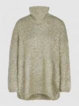 PORTS 1961‎ Oversized Lurex Sweater. LUXE KNITWEAR