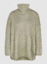 PORTS 1961 Oversized Lurex Sweater. LUXE KNITWEAR