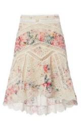 Zimmermann Laelia Diamond Frill Skirt