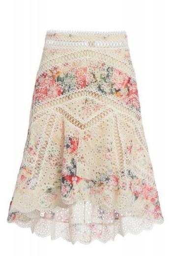 Zimmermann Laelia Diamond Frill Skirt - flipped