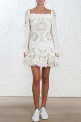 Zimmermann Whitewave Doily Dress