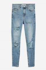 Topshop Bleach Super Ripped Jamie Jeans   destroyed skinnies