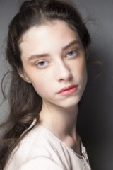 Natural looks at Brock Collection Spring 2019 – runway beauty