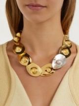 LIZZIE FORTUNATO Clam pearl & gold-plated necklace ~ sea/ocean inspired jewellery