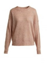 ISABEL MARANT ÉTOILE Cliftony pink mohair-blend sweater