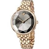 Swarovski CRYSTAL LAKE WATCH, METAL BRACELET, GREY, ROSE GOLD TONE ~ bling watches