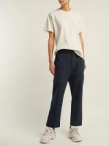 RAEY Indigo Denim patch-pocket trousers