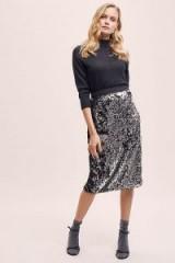 Kirei Layla Sequin Skirt | sequinned pencil skirts
