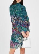 MARY KATRANTZOU Elsie printed silk dress ~ multicoloured shift