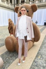 Olivia Palermo in Milan at Max Mara Spring/Summer 2019 ~ MFW celebrity outfits