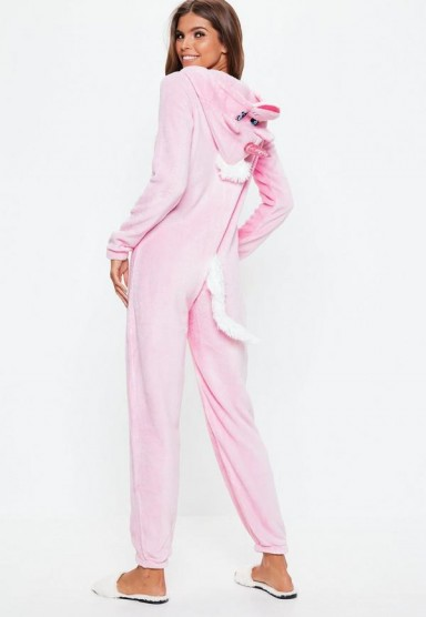MISSGUIDED pink unicorn onesie – cute Christmas gift
