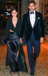Olivia Palermo and husband Johannes Huebl