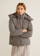 MANGO Quilted jacket – BALMORAL | checked winter jackets