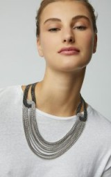 Lulu Frost Quixotic Crystal Layered Necklace ~ glamorous statement jewellery