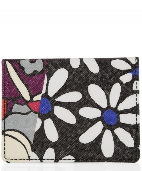 LIBERTY LONDON Richard Quinn Daisy Tulip Travel Card Holder / floral accessories - flipped