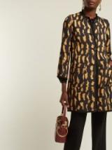ETRO Rosemont reversible cotton-blend coat ~ chic animal/floral print coats