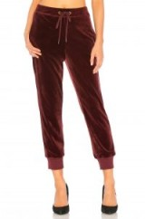 Sanctuary VELOUR TRACK JOGGER in Scarlet
