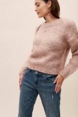 Selected Femme Dyra Jumper | luxe knitwear | boxy crew neck