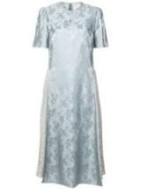 STELLA MCCARTNEY floral jacquard midi dress