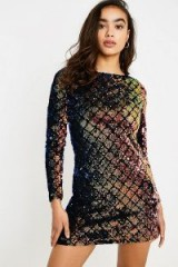 Cheap Monday Show Love Knit Jumper in Black Multi / shimmering party dresses