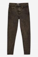 Topshop Acid Green Jamie Jeans   ankle grazing skinnies