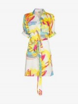 All Things Mochi Paresh Shirt Dress – multicoloured prints