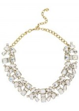 BAUBLEBAR Anessa clear crystal-embellished necklace – statement jewellery