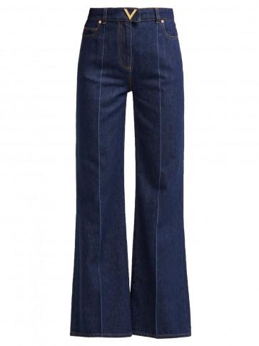 VALENTINO High-rise jeans | 70s style denim