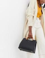INYATI Inita black top handle tote bag