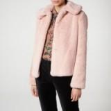 L.K. BENNETT IVONE PINK COAT / luxury winter jacket