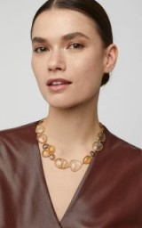 Bahina 18K Gold Quartz Necklace ~ luxe jewellery