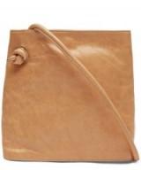 PALOMA WOOL Leah Shiny Leather Pocket Shoulder Bag   square crossbody bags